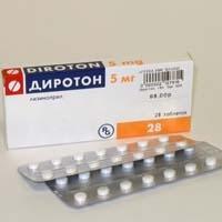 Препарат «Диротон»: отзывы и применение