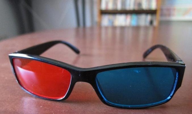 Самостоятельно сделанные 3d очки