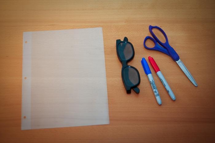 3d очки как сделать самому