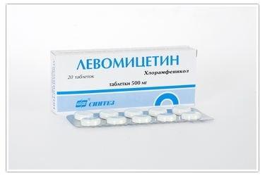 chloramphenicol instruction
