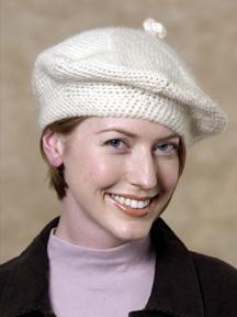 вязание берета для женщин