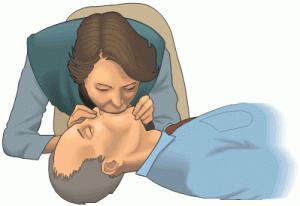 Искусственное дыхание рот в рот утопающей сексуально