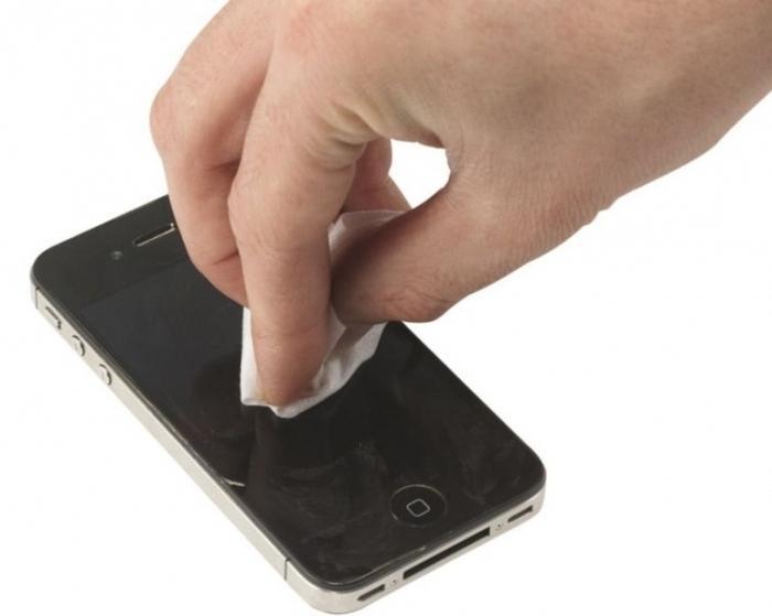 Как экран телефона сделать гладкими