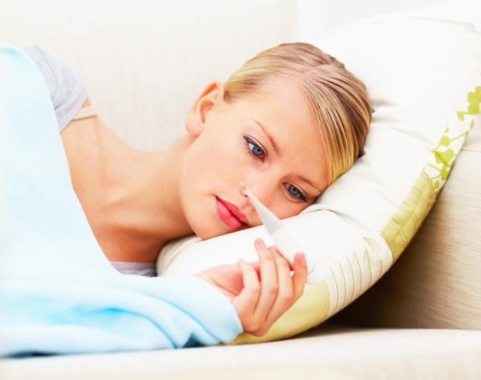 Повышенная температура тела у беременны
