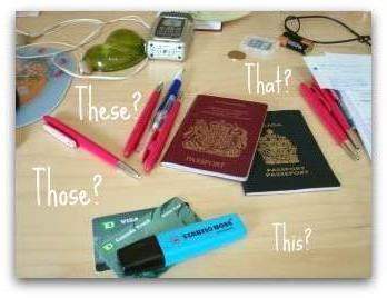 Pronouns of English