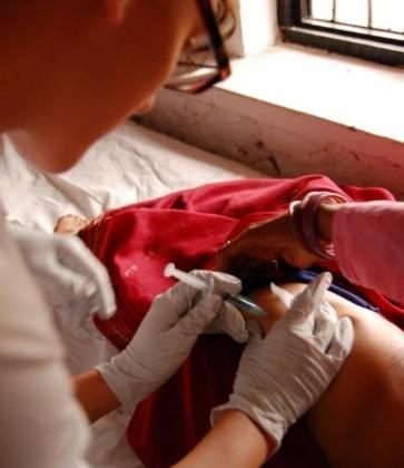 Как сделать безболезненно уколы