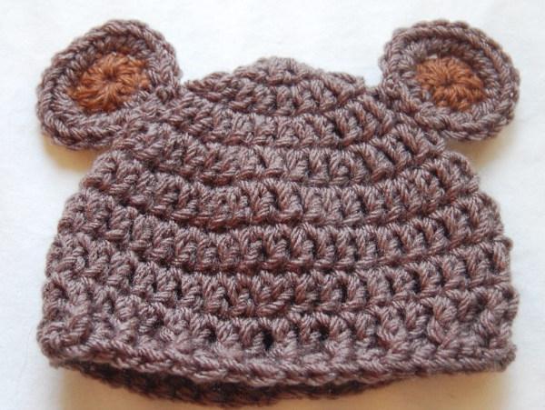 Связать шапочки для новорожденных от 0 до 3 месяцев