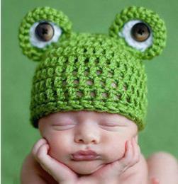 Схема вязания шапочек мишки для новорожденных