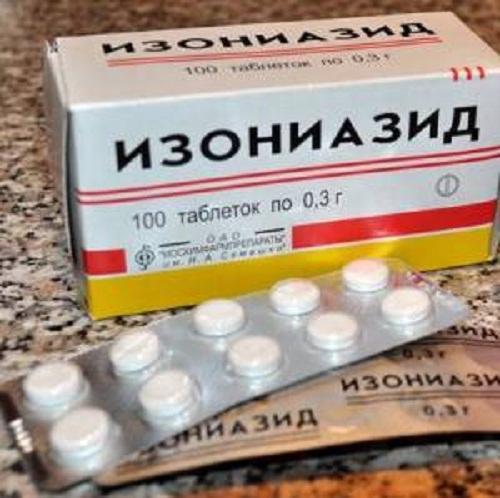 лекарство изониазид инструкция - фото 2