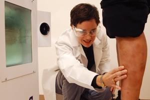 treatment of eczema on the legs