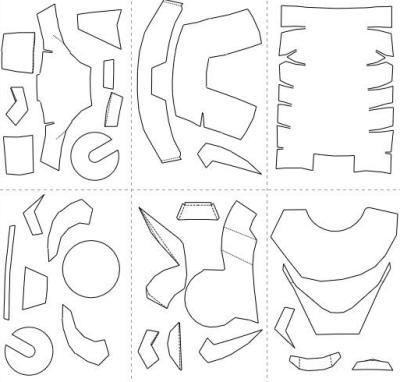 Как сделать шлем железного человека: поэтапная инструкция