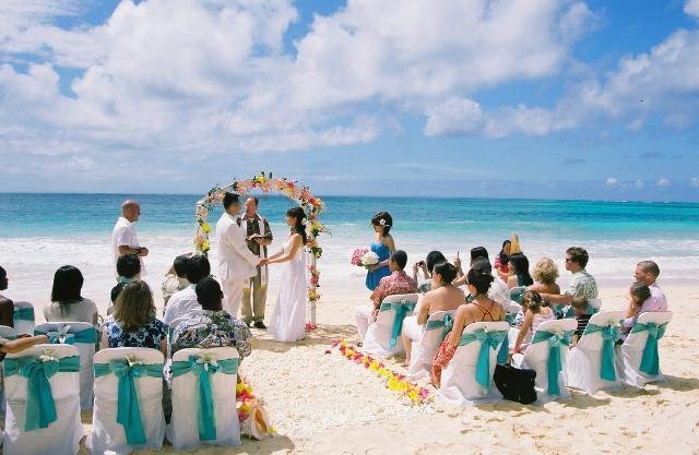 Свадьбы в голубом стиле 28