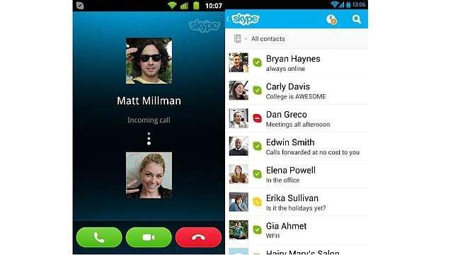общение через скайп