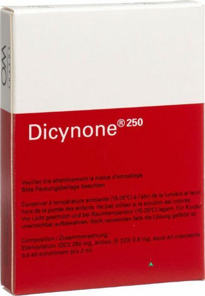 Дицинон при беременности уколы