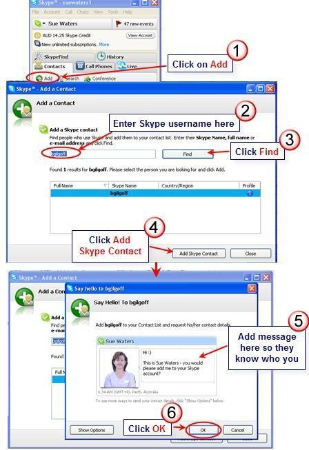 Как добавить человека в скайпе