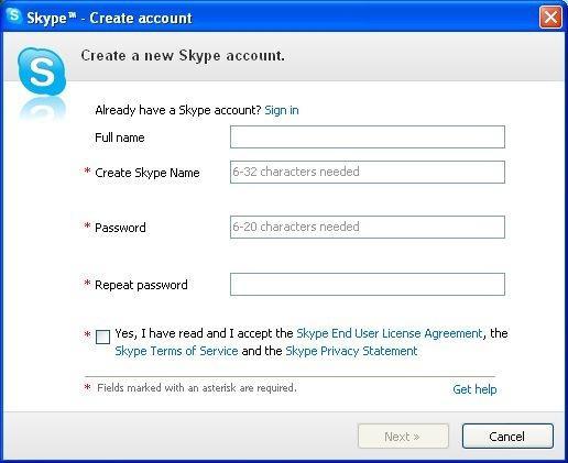 Как сделать другой аккаунт в скайпе