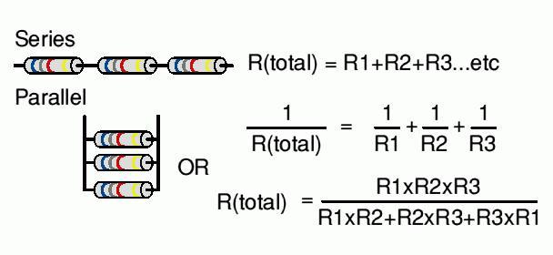 соединение резисторов