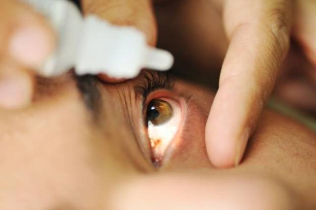eye drops taurine