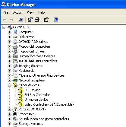 Pci Device And Sm Bus Controller Driver Download