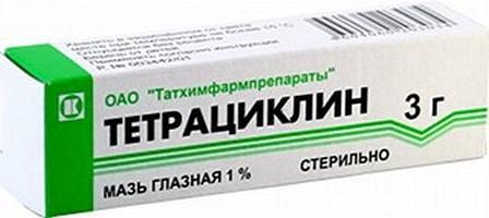 Инструкция Тетрациклин Мазь Глазная
