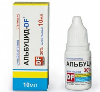 eye drops albutsid