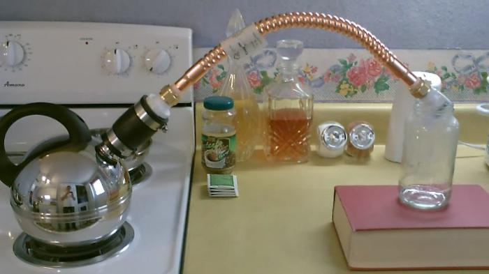 distilled water at home