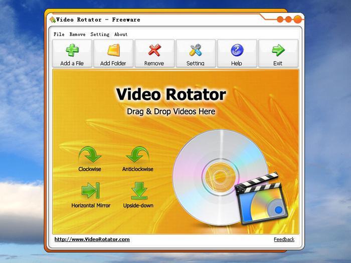 program to flip video