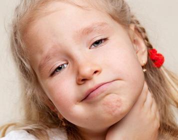 Miramistin for children in the throat