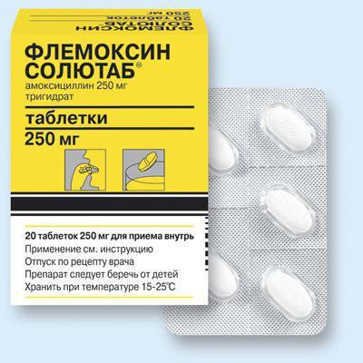 является ли флемоксин солютаб антибиотиком