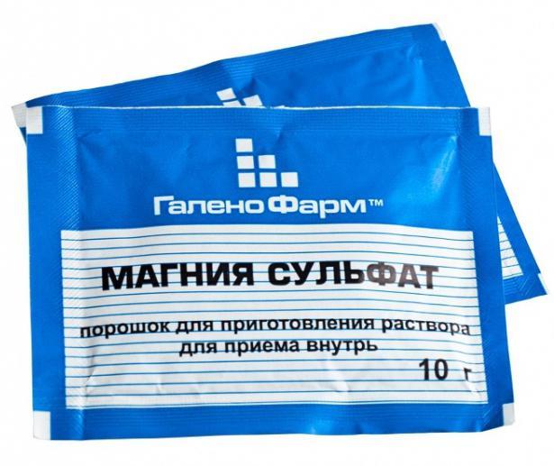 magnesium sulfate application