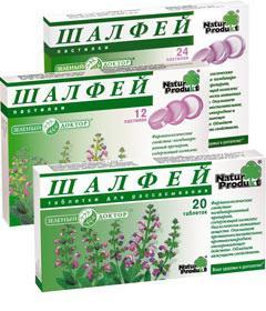 Salvia lozenges