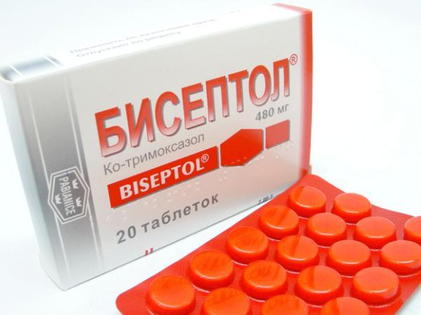 бисептол и нистатин вместе
