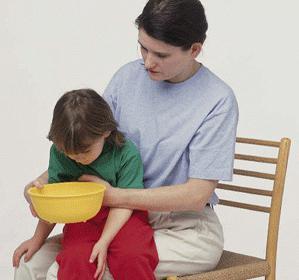 Что делать, если рвота у ребенка без температуры?