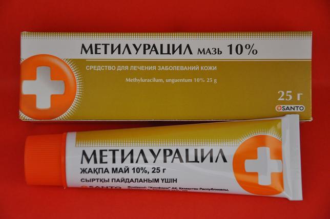 methyluracil ointment in gynecology