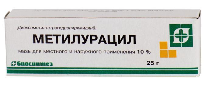 methyluracil ointment instruction