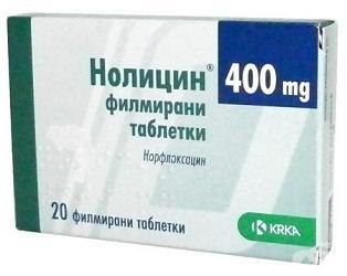 нолицин при пиелонефрите