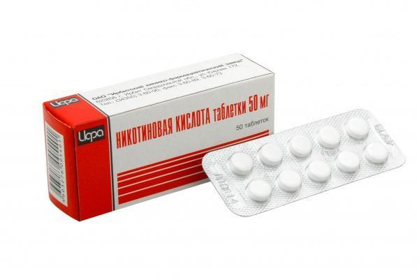 никотиновая кислота в таблетках отзывы