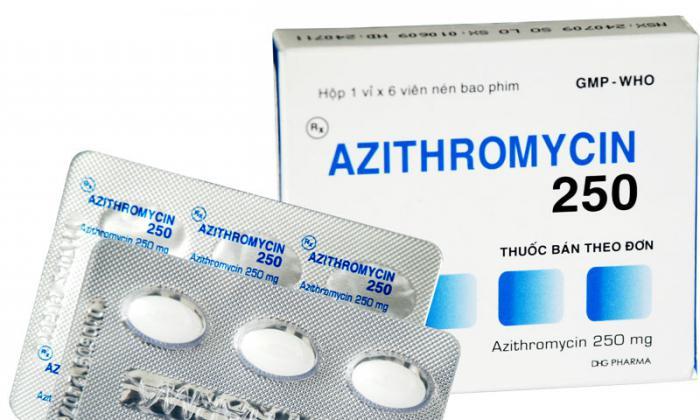 цефалексин или азитромицин что лучше