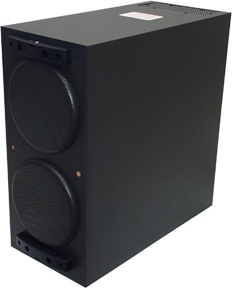 subwoofer with two speakers
