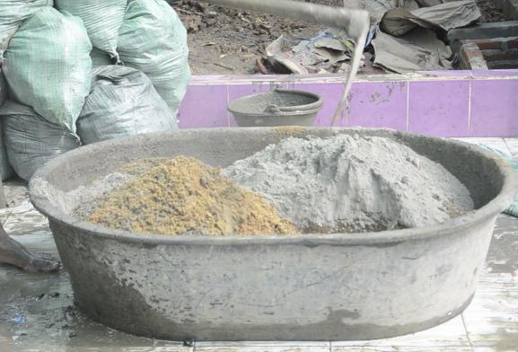 цемент песчаный раствор