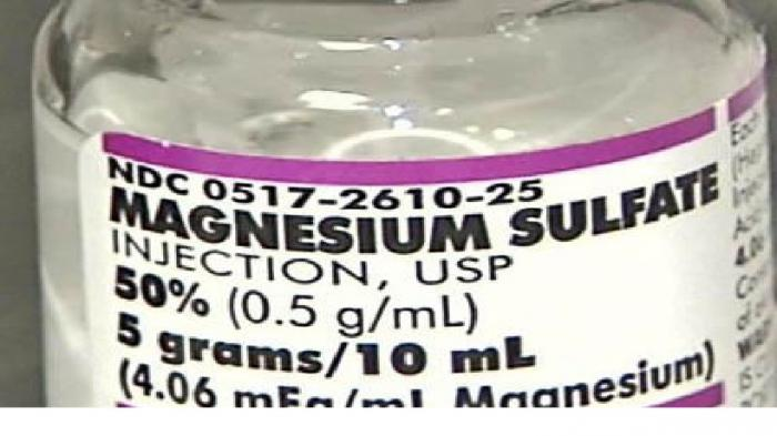 magnesium sulfate laxative