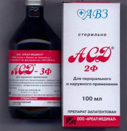 асд фракция 2 применение для простатита