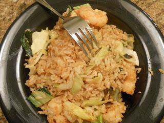 stewed cabbage with rice