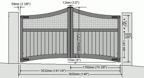 drawings of garage doors