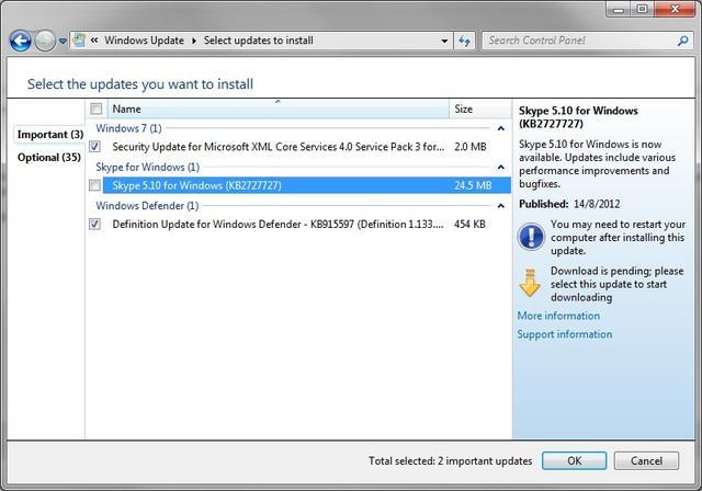Как обновить скайп для ipad - b
