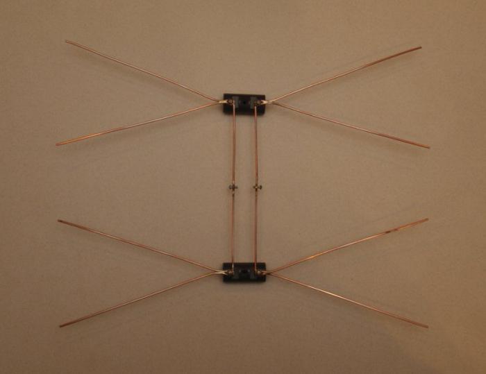 Антенна дмв из кабеля своими руками