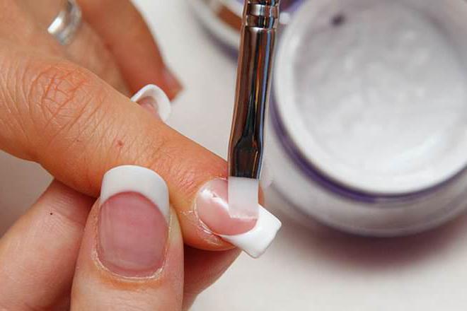 как снять нарощенные акрилом ногти