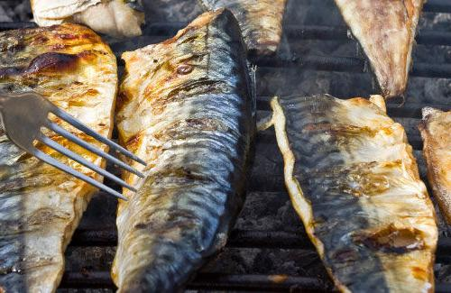 how to cook mackerel on the grill