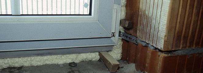 do-it-yourself installation of plastic windows