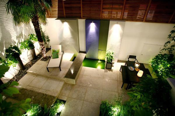 как красиво украсить свой двор